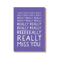 Stormy Knight 'I Really Miss You' Card